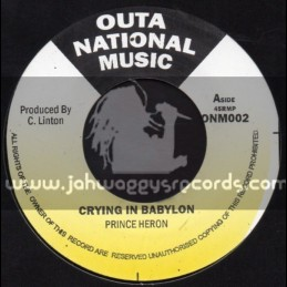 "Outer National Music-7""-Crying In Babylon / Prince Heron"