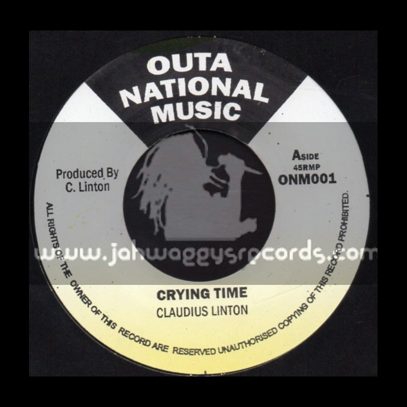 """Outer National Music-7""""-Crying Time / Claudius Linton"""