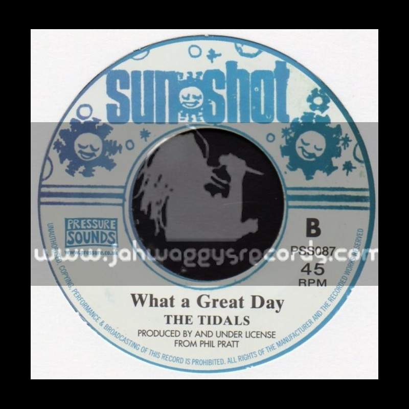 "Sun Shot-7""-Put Those Fools + What A Great Day / The Tidals"