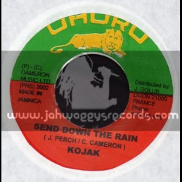 "Uhuru-7""-Send Down The Rain / Kojak"