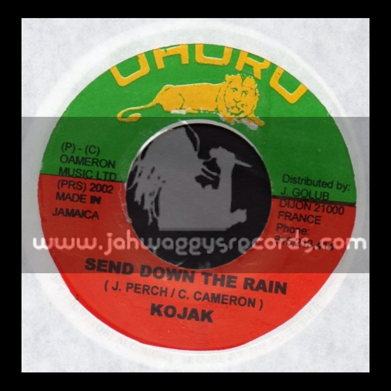 "Uhuru-7""-Send Down The Rain / Kojak"