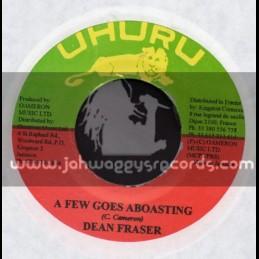 """Uhuru-7""""-A Few Goes A Boasting / Dean Fraser"""
