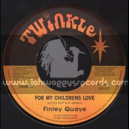 "Twinkle-7""-For My Chidrens Love / Finley Quay"