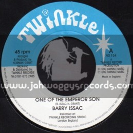 "Twinkle-7""-One Of The Emperor Son / Barry Issac"