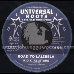 "Universal Roots-7""-Road To Lalibela / R.D.K Allstars"