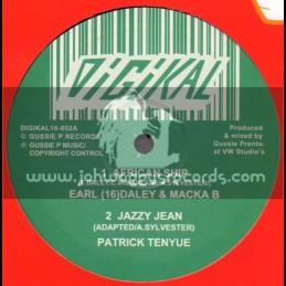 "Digikal-10""-African Ship / Earl 16 & Macka B + Ganja Messinger / Prince Liv I Jah"