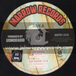"Marrow Records-12""-Jah Name / Chezidek + Forever / Mark Wonder"