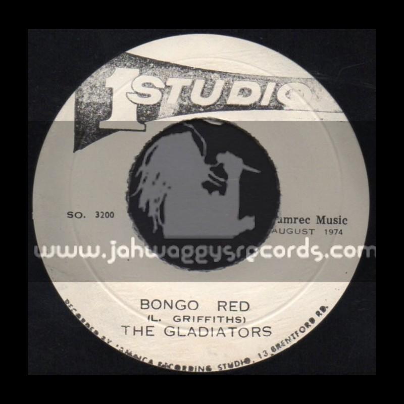 """Studio 1-7""""-Bongo Red / The Gladiators"""