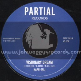 "Partial Records-7""-(Test Press) Visionary Dream / Naph-Tali"