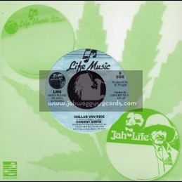 """Jah Life-7""""-Dollar Van Ride / Conroy Smith"""
