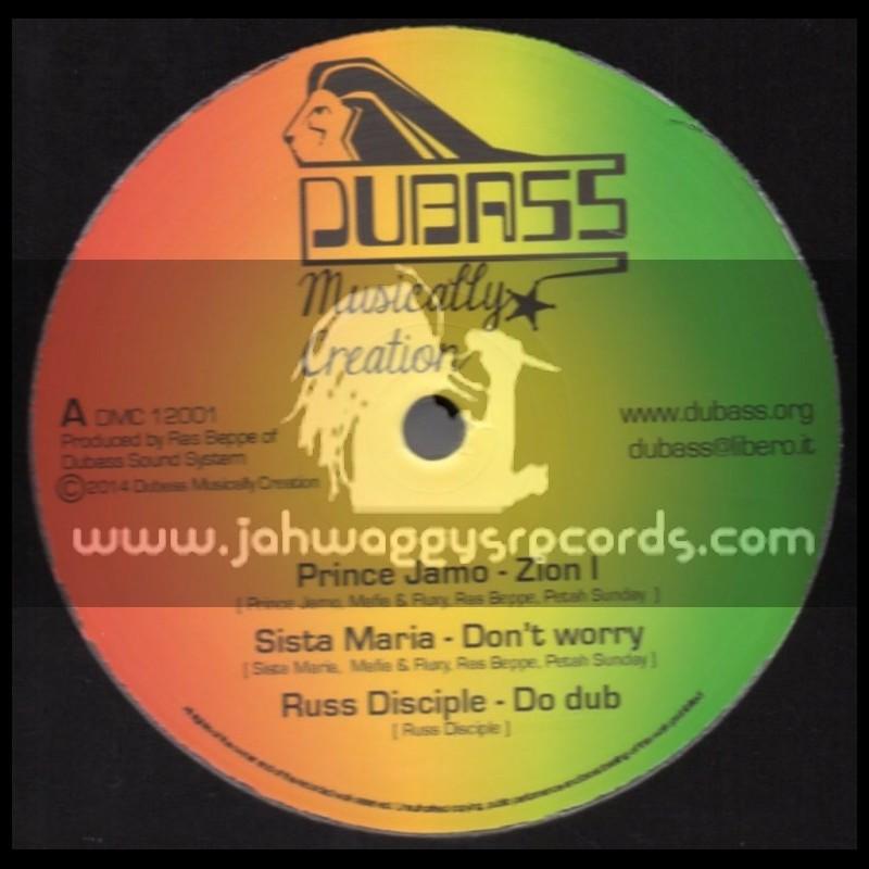 "Dubass Musically Creation-12""-Zion I / Prince Jamo + Dont Worry / Sister Maria"