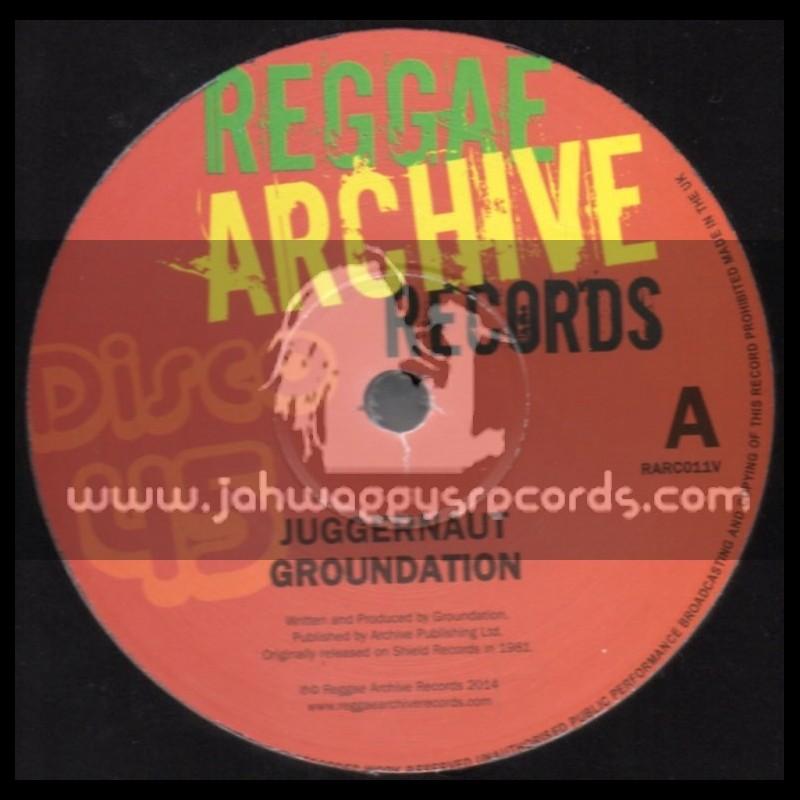 "Reggae Archive Records-12""-Juggernaut + Fa Ward / Groundation"