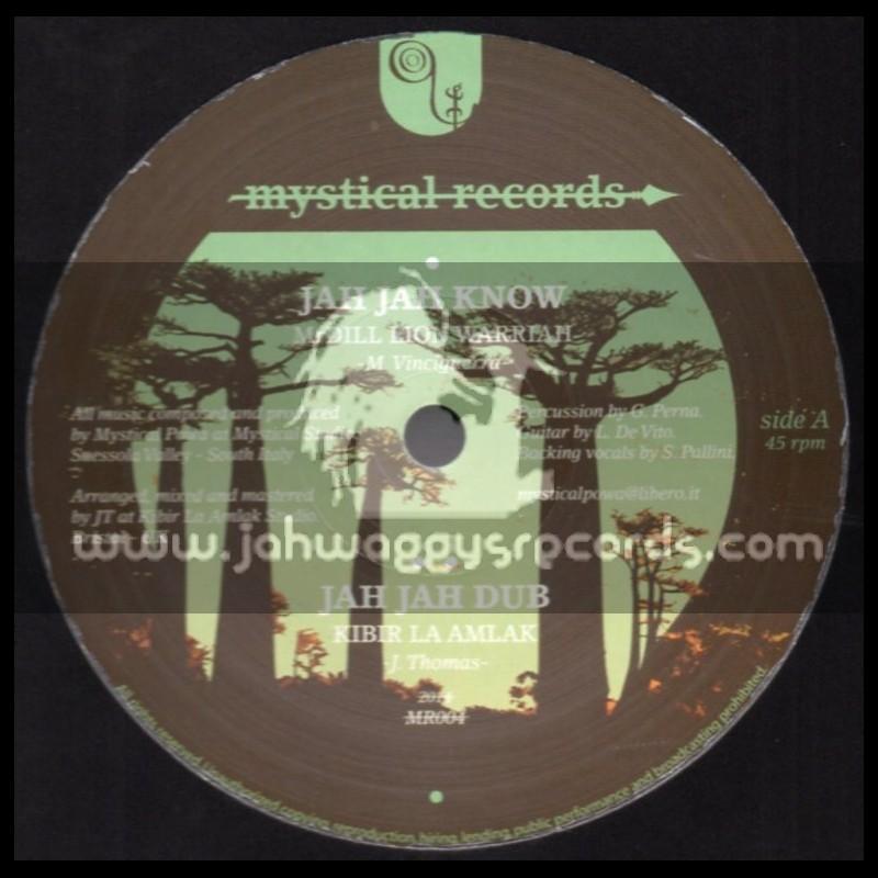"Mystical Records-12""-Jah Jah Know / MrDill Lion Warrior+Trust The Dream / Mulu & I Jah Saloman (Kibir La Amlak)"