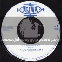 """Ariwa-7""""-Roots Natty Roots / Sister Aisha"""