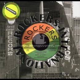 "Rockers International-7""-Take One Step / Ruffy & Tuffy"
