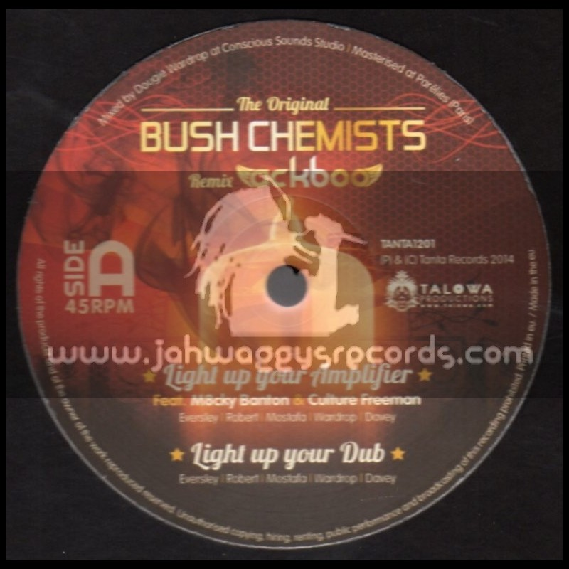 "Tanta Records-12""-Light Up Your Amplifier / Culture Freeman & M8cky Banton - Bush Chemists Meets Ackboo"