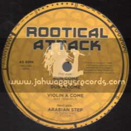 "Rootical Attack Records-12""-Run Come / Johnny Clarke + Arabian Step / Tozer"