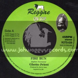 "Reggae On Top-7""-Fire Bun / Ghetto Priest"