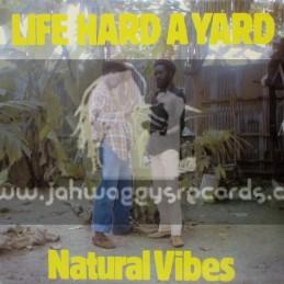 Star Light Records-Lp-Life Hard A Yard / Natural Vibes