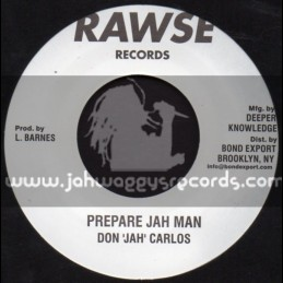 "Rawse Records-7""-Prepare Jah Man / Don Carlos"
