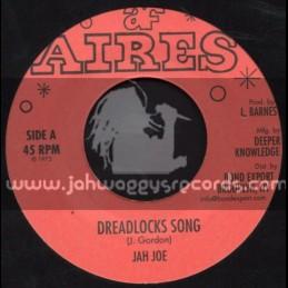 """Aries-7""""-Dreadlocks Song / Jah Joe"""