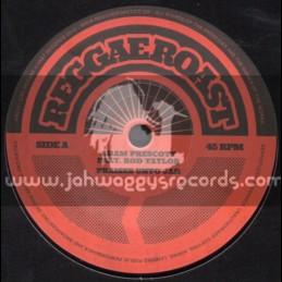 """Reggae Roast-7""""-Praises Unto Jah / Rod Taylor"""