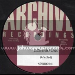 "Archive Recordings-7""-Satta Massa Gana / Ken Booth"