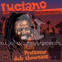 Ariwa-LP-Deliverance / Luciano - Mad Professor Dub Showcase