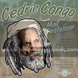 Ariwa-LP-Cedric Congo Meets Mad Professor Showcase