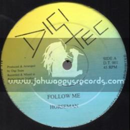 """Digi Tee-12""""-Follow Me / Horseman"""