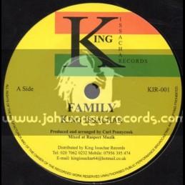 "King Issachar Records-7""-Family / King Issachar"