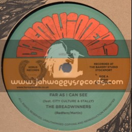 "Horus Records-12""-Far As I Can See + Mr Landlord / The Breadwinners"