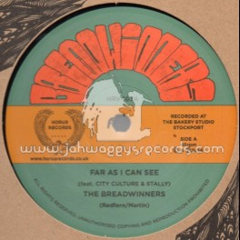 """Horus Records-12""""-Far As I Can See + Mr Landlord / The Breadwinners"""