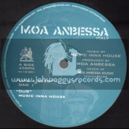 "Moa Anbessa-10""-Like A Seed / Dan I + Jah Never Let Me Down / Prince David"