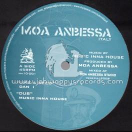 "Moa Anbessa-10""-Like A Seed / Dan I + Jah Never Let Me Down / Prince David"