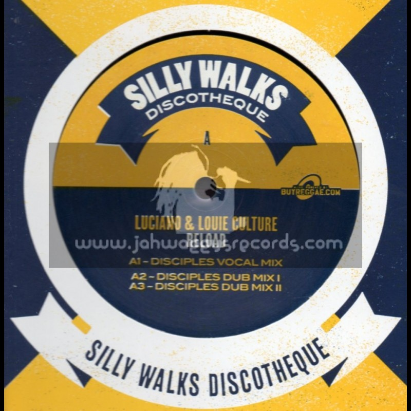 """Silly Walks-12""""-Reload / Luciano & Louis Culture + 30 Piece Of Gold / Exco Levi (Disciples Remixes)"""