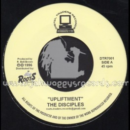"Roots Traders-7""-Upliftment / The Disciples"