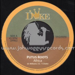 """Duke Production-7""""-Africa / Putus Roots (The Giants)"""