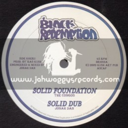 """Black Redemption-10""""-Solid Foundation / The Congos"""