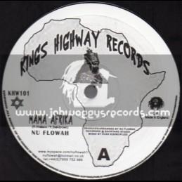 "Kings Highway Records-10""-Mama Afrika + Shitstem / Nu Flowah"