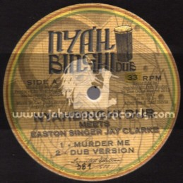 "Nyah Binghi Dub-10""-Murder Me + Salvation / Easton Singer Jay Clarke"