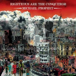 Greensleeves-LP-Righteous Are The Conqueror / Michael Prophet