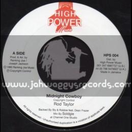 "High Power Music-7""-Midnight Cowboy / Rod Taylor"