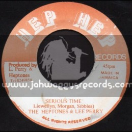 "Hep Hep-7""-Serious Time / The Heptones & Lee Perry"