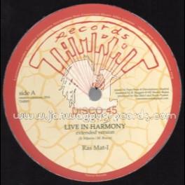 "Tamrat Records-12""-Live In Harmony / Ras Mat-I"