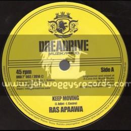 "Dreadrive Muzik Prod-7""-Keep Moving / Ras Apaawa"
