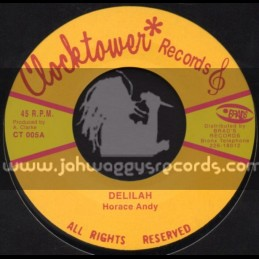 """Clock Tower Records-7""""-Delilah / Horace Andy"""