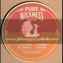"""Pure Niceness Records-12""""-Pull Over / Mr Williams (Crystalaz)"""