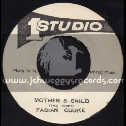 """Studio 1-7""""-Mother And Child / Fabian Cooke"""