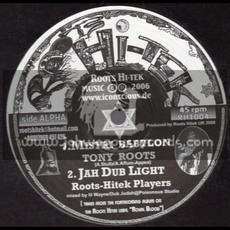 "Roots Hi Tek-10""-Mistri Babylon + Warzone / Tony Roots"